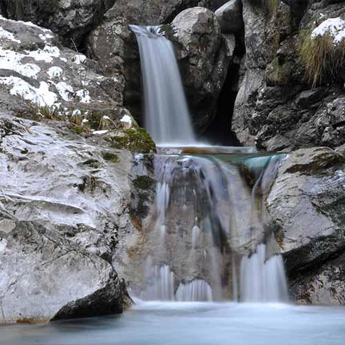 Cascata Val Vertova Evi